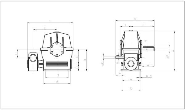 Motorreductores Motorreductor Engranajes y Sinfin y Corona Redumax